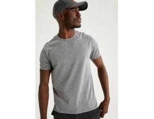 DeFacto T-Shirt basic - grey/grau