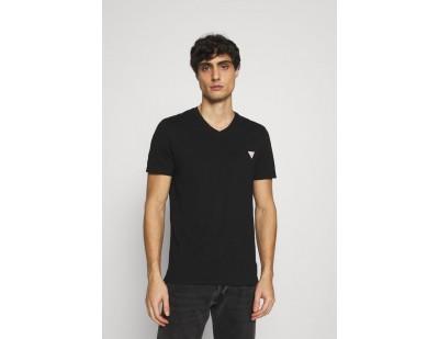 Guess TEE - T-Shirt basic - jet black/schwarz
