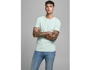 Jack & Jones T-Shirt basic - bleached aqua/hellblau