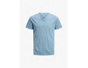 Jack & Jones T-Shirt basic - faded denim/hellblau-meliert