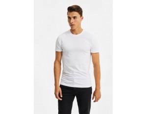 WE Fashion 2 PACK - T-Shirt basic - white/weiß