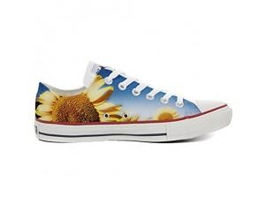 Shoes Sneakers Unisex Original USA personalisierte Schuhe (Handwerk Produkt) Slim Sonnenblume
