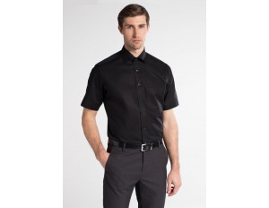 Eterna Businesshemd - schwarz