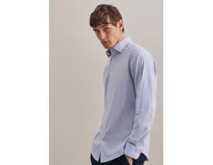 Seidensticker Businesshemd - blau/hellblau