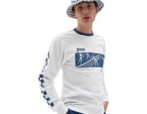 Vans MN VANS X PENN LS - Langarmshirt - (penn) white/weiß