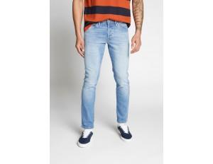Jack & Jones JJIGLENN JJFOX - Jeans Slim Fit - blue denim