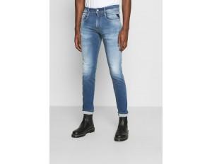 Replay ANBASS HYPERFLEX RE-USED - Jeans Slim Fit - light-blue denim