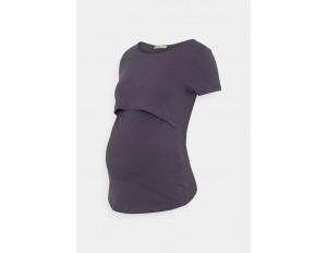 Anna Field MAMA NURSING Basic T-shirt - T-Shirt basic - grey/grau
