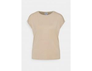 Vero Moda VMAVA PLAIN - T-Shirt basic - beige