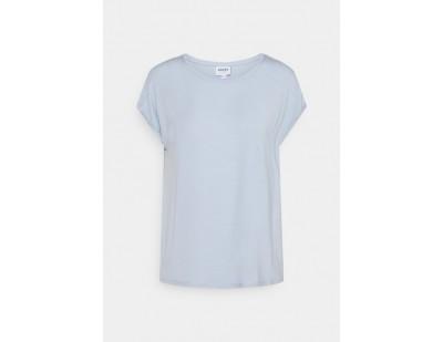 Vero Moda VMAVA PLAIN - T-Shirt basic - blue fog/hellblau