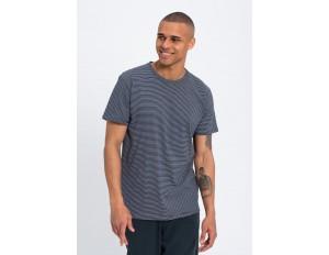 recolution T-Shirt print - navy / white/blau