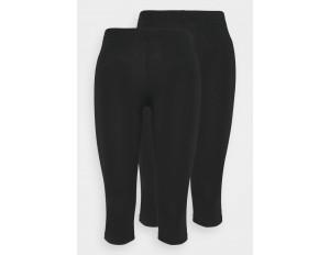 Even&Odd Petite CROPPED - Leggings - Hosen - black/schwarz