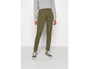 Even&Odd ZIP PUNTO LEGGINGS - Leggings - Hosen - dark green/dunkelgrün