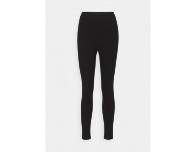 NA-KD Leggings - Hosen - black/schwarz