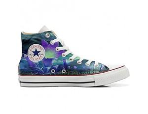 MYS Schuhe Original Original personalisierte by Handmade Shoes - Blumen Fantasy - TG40