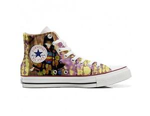 MYS Schuhe Original Original personalisierte by Handmade Shoes - Blumen FATA Fantasy - TG35