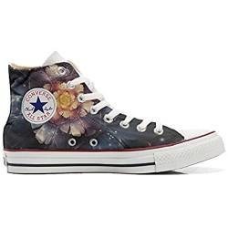 MYS Schuhe Original Original personalisierte by Handmade Shoes - Infinity Flowers - TG41