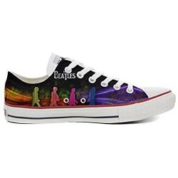Sneaker Original personalisierte Schuhe - Handmade Shoes - Slim The Beatles - TG40