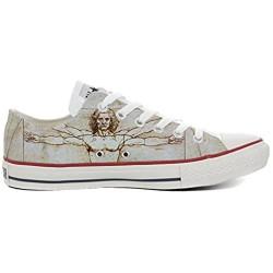 Sneaker Original personalisierte Schuhe - Handmade Shoes - Slim Vitruviano - TG32